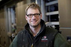 Dutch dairy Farmer Wim Bos