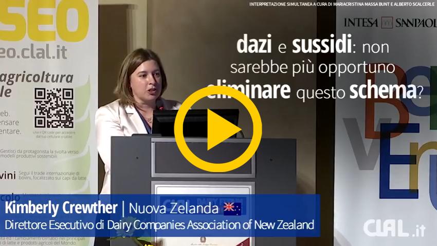 Al CLAL Dairy Forum 2016, ospiti da varie parti del mondo hanno espresso la loro opinione sulla questione dei sussidi nel settore lattiero caseario.