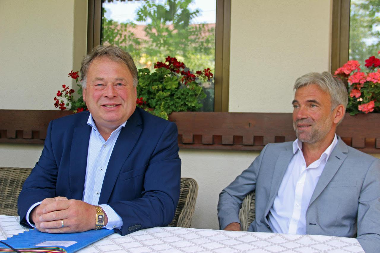 Il Ministro bavarese all'agricoltura Helmut Brunner