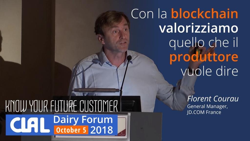 Florent Courau (JD.COM) al CLAL Dairy Forum