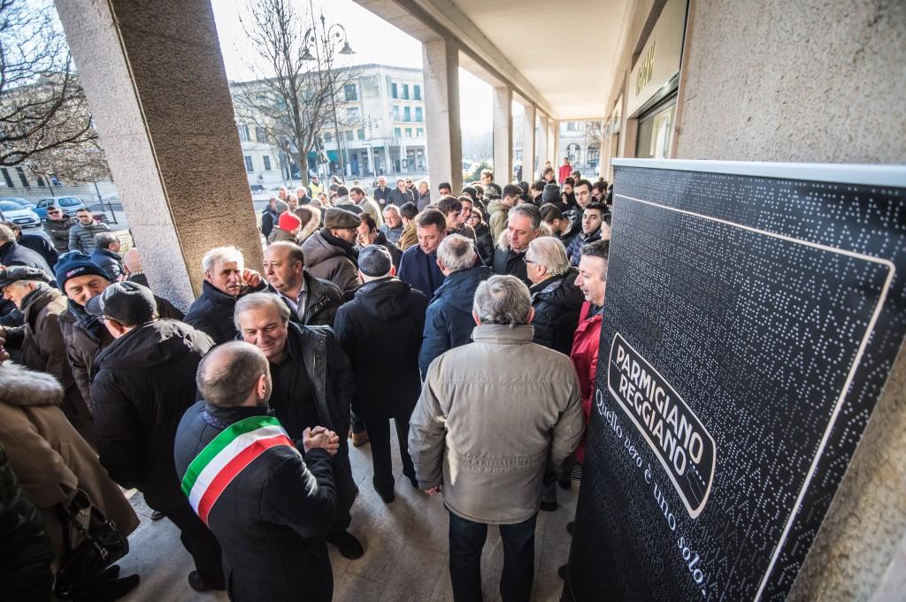 Inaugurazione della nuova sede del Consorzio parmigiano Reggiano, sezione Mantova
