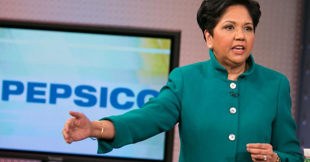 Indra Nooyi ha ricoperto per 12 anni la carica di CEO di Pepsico