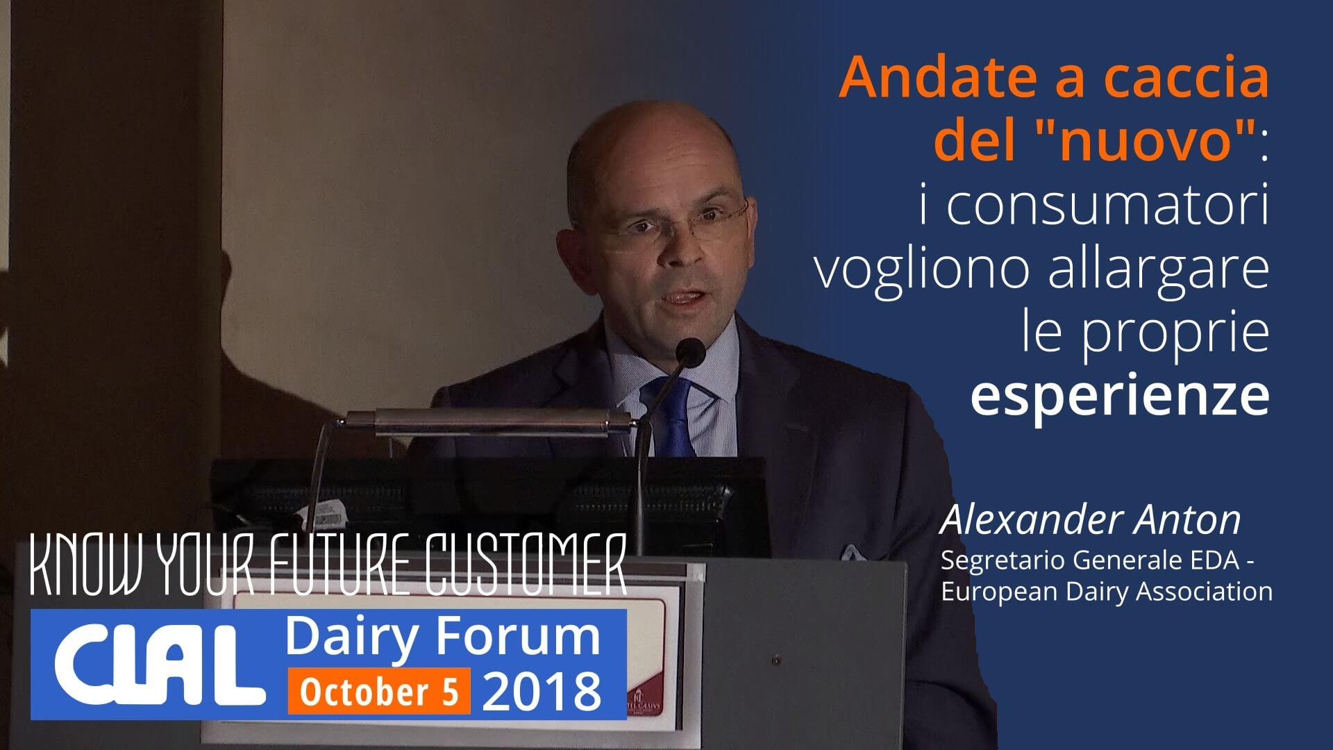 Alexander Anton, Segretario Generale EDA - European Dairy Association