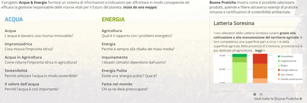 CLAL.it - Acqua & Energia