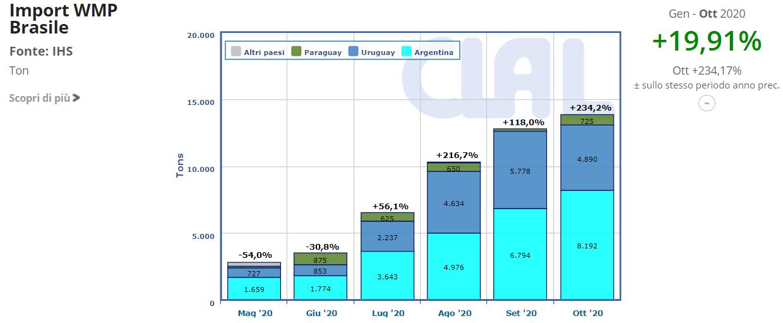 CLAL.it - Brasile Import WMP