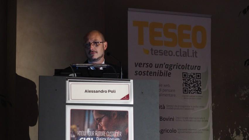 Alessandro Poli al CLAL Dairy Forum