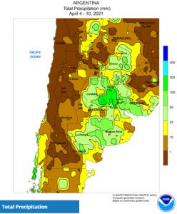 CLAL.it - Argentina Precipitation